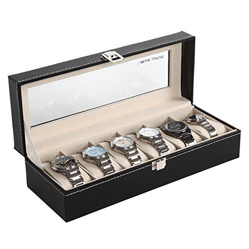 (ブルーロータス)BLUELOTUS 時計収納ケース ウォッチコレクションケース 6本収納用 BL-276