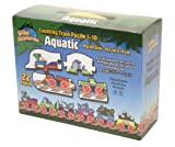 Puzzle Number Aquatic Train