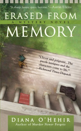Erased From Memory (A Carla Day Mystery), Diana O'Hehir