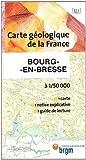 echange, troc Cartes BRGM - Carte géologique : Bourg-en-Bresse
