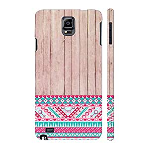 Enthopia Designer Hardshell Case Woody 2 Aztec 13 Back Cover for Samsung Galaxy Note 4