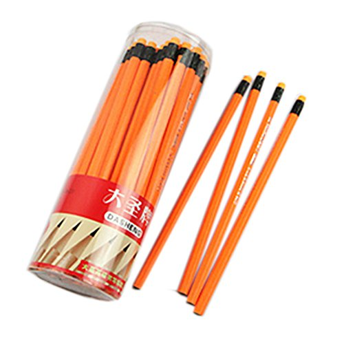 lot-de-2-crayons-hb-avec-des-crayons-gommes-bois-tube-orange