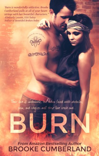 BURN (Spark, #2) (Spark Series) by Brooke Cumberland