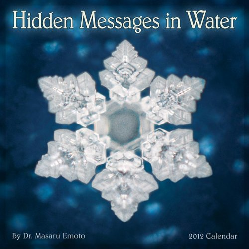 Hidden Messages in Water 2012 Wall Calendar