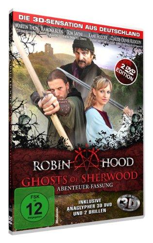 Robin Hood: Ghosts of Sherwood (Abenteuer-Fassung) (inkl. anaglypher 3D DVD und 2 Brillen) [2 DVDs]