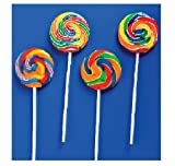 Assorted Swirl Lollipops (1 dz)