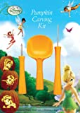 PMG Disney Fairies Pumpkin Carving Kit, 3 Carving Tools, 7 Stencil Patterns