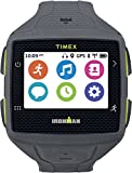 Timex TW5K89000F5 Ironman One GPS Watch, Full Size, Gray/Lime Green