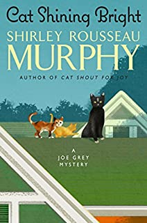 Book Cover: Cat Shining Bright: A Joe Grey Mystery