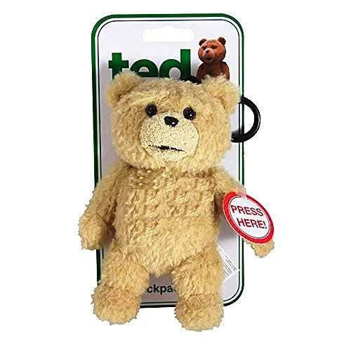 Ted R-Rated Talking Backpack Clip Plush