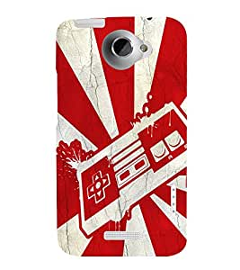 printtech Pop Culture Game Back Case Cover for HTC One X::HTC One XT::HTC 1X