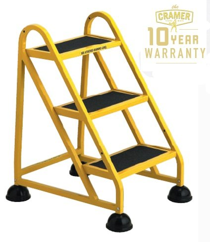 Cramer 1031L Stop Step 3 Step Ladder with Left Handrail
