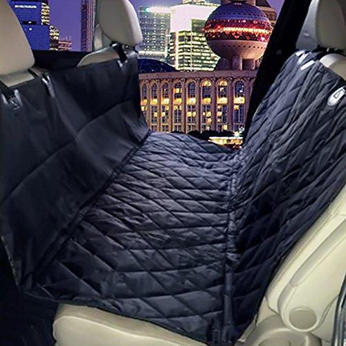 dog seat cover plus pet seat belt for cars vans suvs trucks premium auto car seat. Black Bedroom Furniture Sets. Home Design Ideas