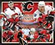 Calgary Flames 11X14 Plaque - Nhlpa Players W/Arena