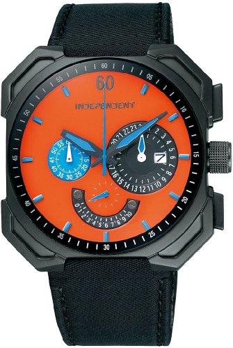 INDEPENDENT (インディペンデント) 腕時計 クロノグラフ ITA21-5157 INDEPENDENT×Takashi Kumagai コラボモデル 限定モデル メンズ