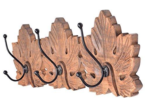 regalos-de-navidad-montado-en-la-pared-floral-mango-de-madera-y-hierro-2-gancho-de-la-capa-de-la-par