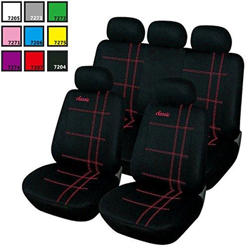 woltu housse de si ge voiture universelle auto housses pour si ge si ge housse couvre si ge noir. Black Bedroom Furniture Sets. Home Design Ideas