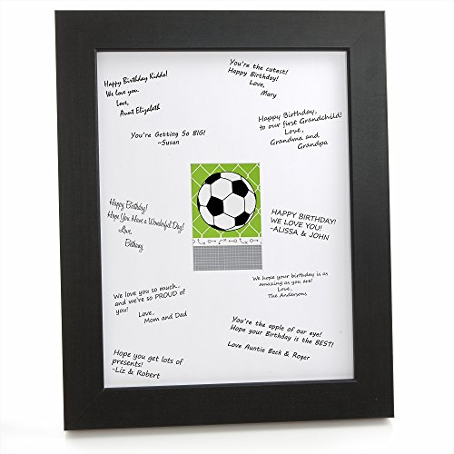 Big Dot Of Happiness Goaaal! - Soccer - Print With Signature Mat front-728201