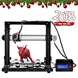 Pxmalion CoreI3 3D Printer DIY Kit, Auto Leveling, Heatbed, Improved Reprap Prusa i3 Structure, Multiple Colors Printing, Filament Detection, Self-Assembly, 40g PLA Filament Included
