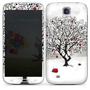 Samsung Galaxy S4 i9500 / LTE i9505 Folie Skin Aufkleber Schutzfolie Sticker DesignSkins - Wintertraum
