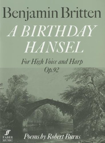 Birthday Hansel, Op. 92: For High Voice and Harp (Faber Edition)