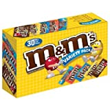 M&Ms Variety Pack - 30 pk.