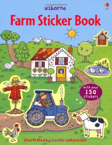 Farm Sticker Book (Usborne Sticker Books)