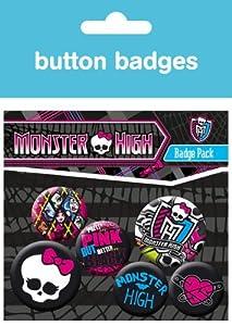 GB eye Monster High Graphics Badge Pack