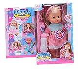 La vogue Regalo Mu�ecos Baby Beb� Ni�a Rosa Vestido