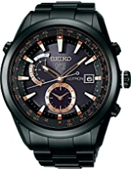 Reinforced Waterproof Everyday Life × Pink Gold Dial Sapphire Glass Super Clear Coated Black Silicon Band Included Strengthening Titanium Bright Radio-corrected Gps Satellite Solar Watch Seiko Astron Astron [Seiko] Seiko (Water Pressure 10) Sast001