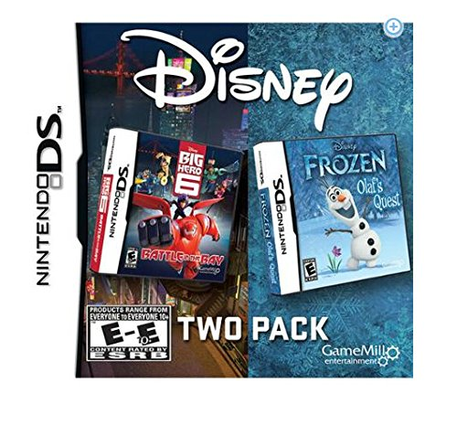 Frozen and Big Hero 6 for Nintendo DS: Disney 2-Pack (Frozen Olafs Quest Nintendo Ds compare prices)