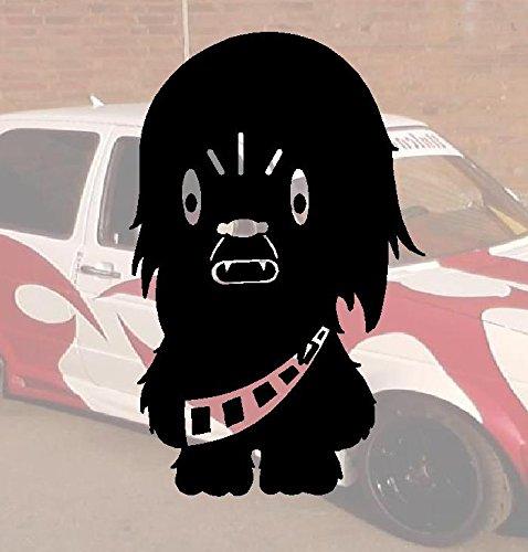 Wookie Domo Bitch-Adesivo per auto a forma di Minion