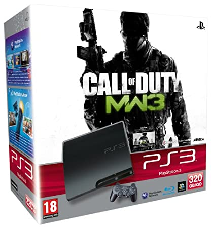 PlayStation 3 Consola 320 GB + Call Of Duty MW 3 + Voucher Collection 1