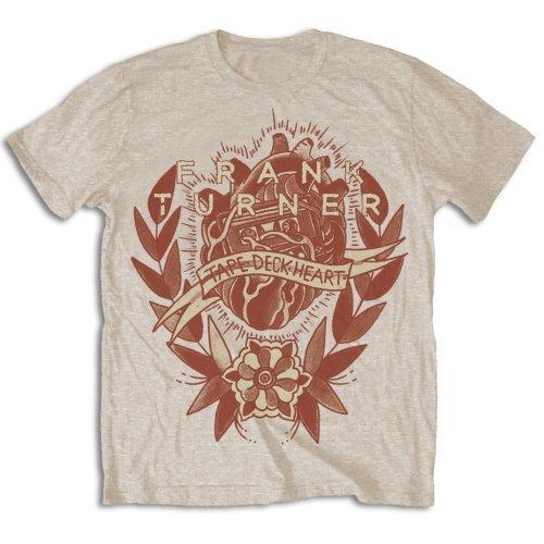 Rockoff Trade - Tape Deck Heart, T-shirt Uomo, Beige (beige), X-Large