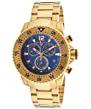 "Swiss Legend Mens 10063-YG-33 ""Sergeant"" Gold Ion-Plated Watch"