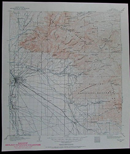 tucson-arizona-santa-catalina-mts-saguaro-vintage-1957-usgs-topo-chart-map
