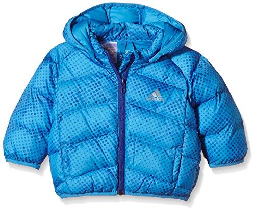 Adidas bambini giacca piumino Synthetic Down Jacket, Bambini, Daunenjacke Synthetic Down Jacket, blu chiaro, 68