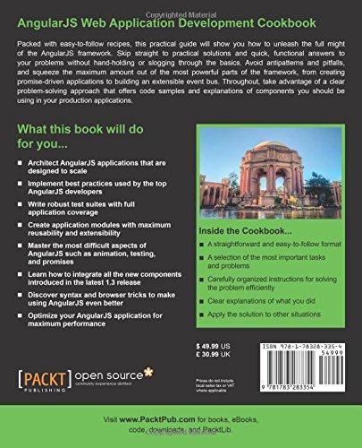 AngularJS Web Application Development Cookbook