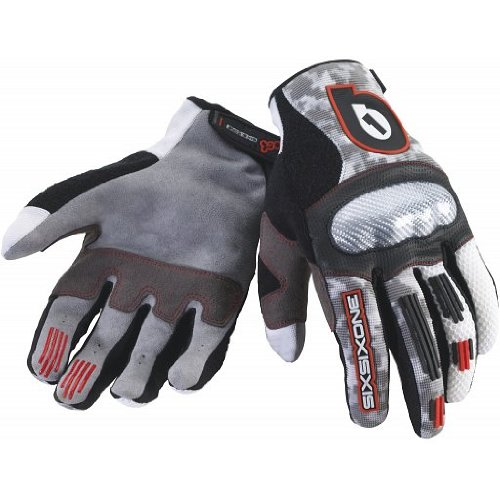 Buy Low Price Sixsixone Ck-1 Full Finger Bike Glove (72-0539)