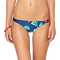 Roxy Juniors Tahiti Sunset Itsy Bitsy Bikini, Estate Blue, Large