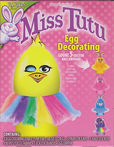 Easter Egg Dye Decorating Kit Miss Tutu Ballerina