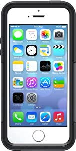 iPhone 5S Case - OtterBox Commuter Series - Frustration-Free Packaging - Black