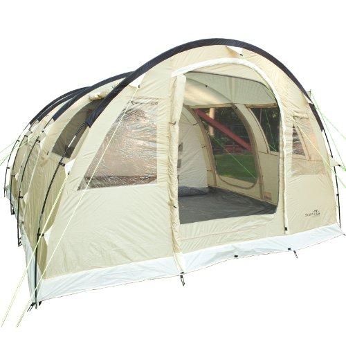 Skandika - Tenda da campeggio Gotland 5, 505 x 370 cm, colore: Grigio