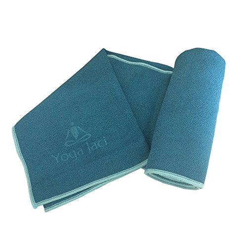 Yoga Jaci Yoga Mat Towel: Extra Long Hot Bikram Yoga Mat Towell