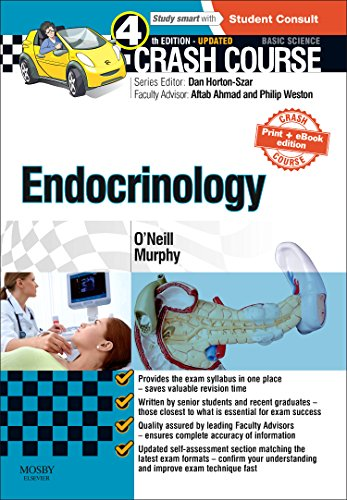 Crash Course Endocrinology: Updated Print + E-book Edition, 4e
