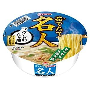 エースコック 茹でたて名人 コクしおらぁ麺 91g×12個