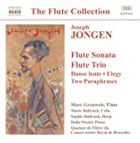 Image of Jongen: Music for Flute - Flute Sonata / Flute Trio / Danse Lente / Elegy / Two Paraphrases