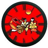 meSleep Dance Wall Clock (With Glass)