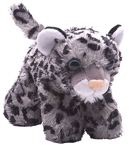 Wild Republic Hug Ems Snow Leopard Plush Toy