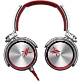 Sony MDRX10/RED X Over-the-Ear Headphones Red/Silver